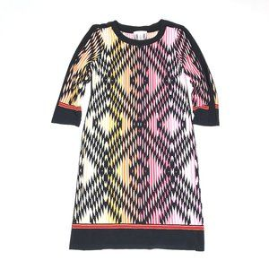3 for $40! London Times Printed 3/4 Sleeve Dress